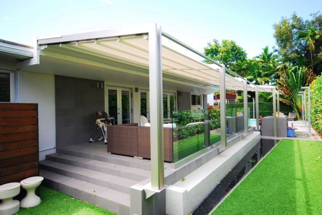 Retractable Awnings & Canopies - Miami Awning - Shade ...