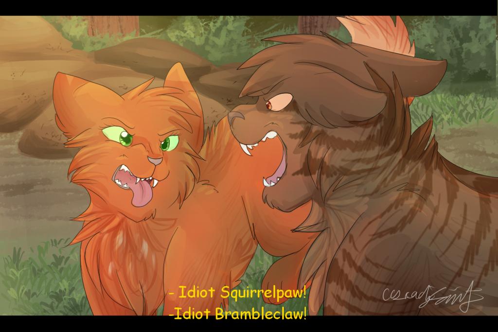 Squirrelflight And Bramblestar