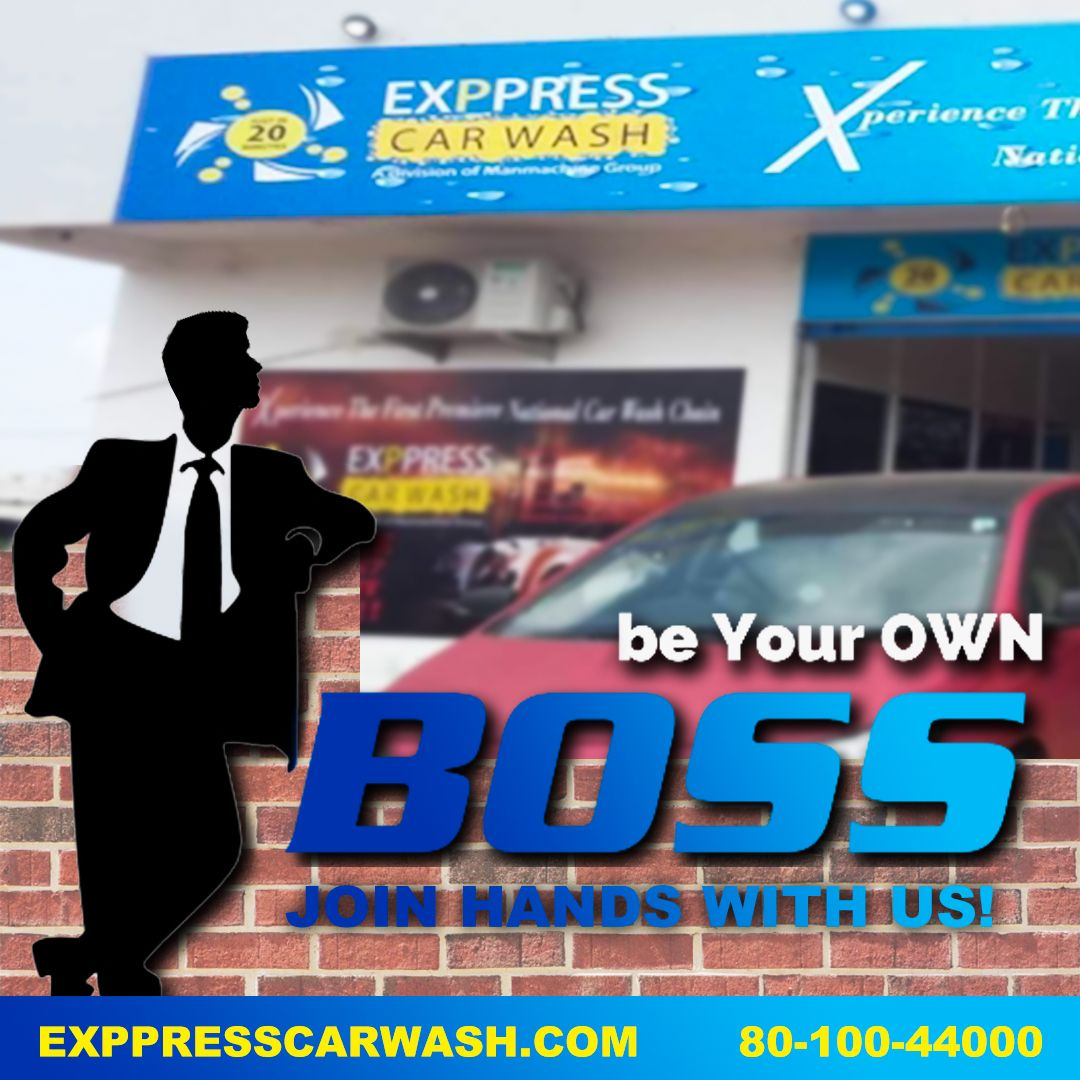 Be Your Own BOSS! | Car wash franchise, Car wash business ...