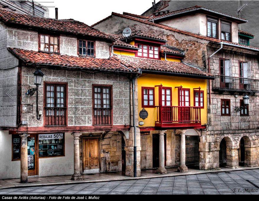 Casas de Avilés (Asturias) - Foto de Foto de José L MuñozMás fotos de Asturias en http://obesia.com/asturias