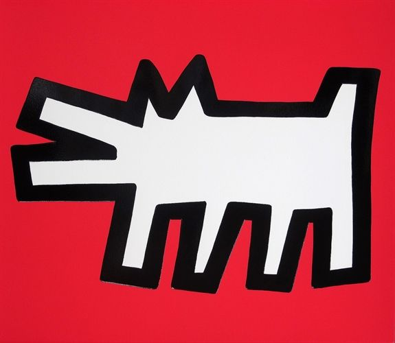 Barking Dog (from Icons) by Keith Haring on artnet Auctions