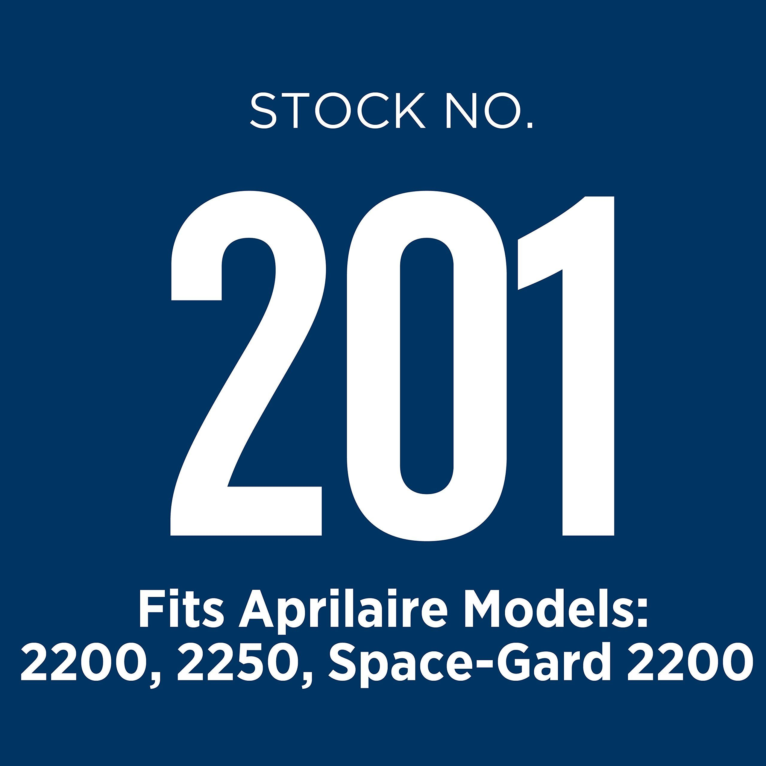 Aprilaire 201 Air Filter for Air Purifier Models 2200 and