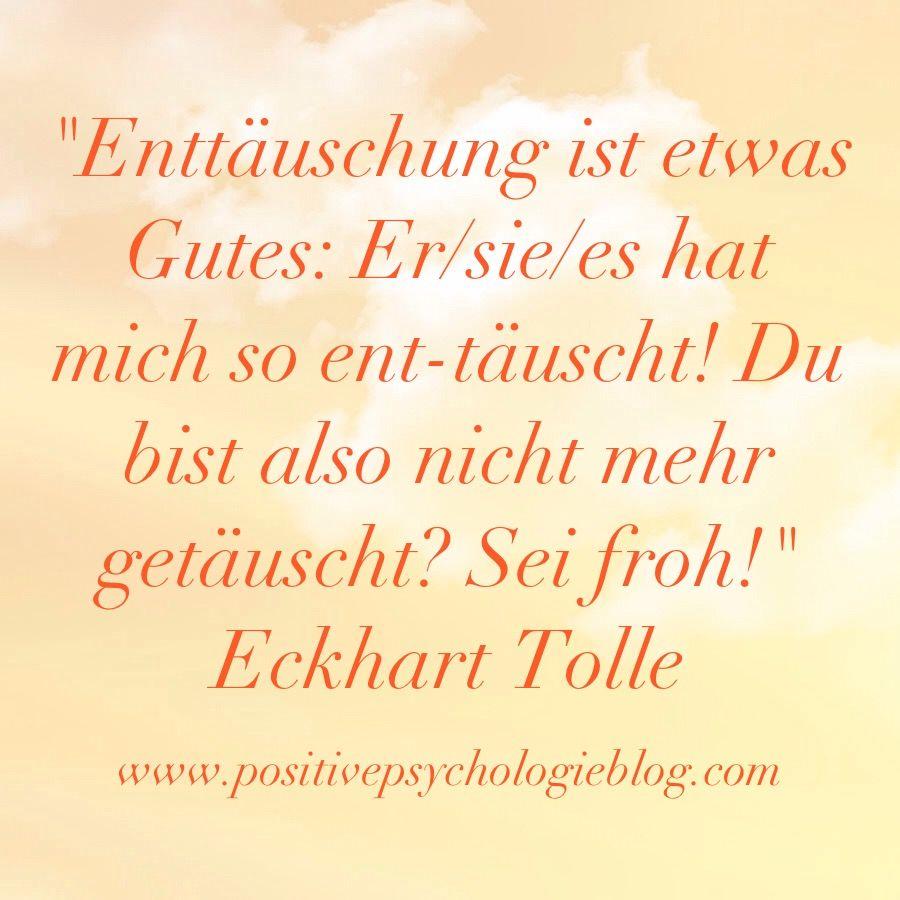 Quote Zitate Eckhart Tolle Weisheit Psychologie