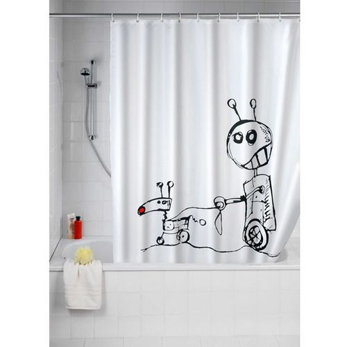 10 Funny Shower Curtains For Your Bathroom
