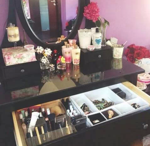 Pinterest Icristy13 Makeup Vanity Vanity Inspiration Girly Room Glam Room