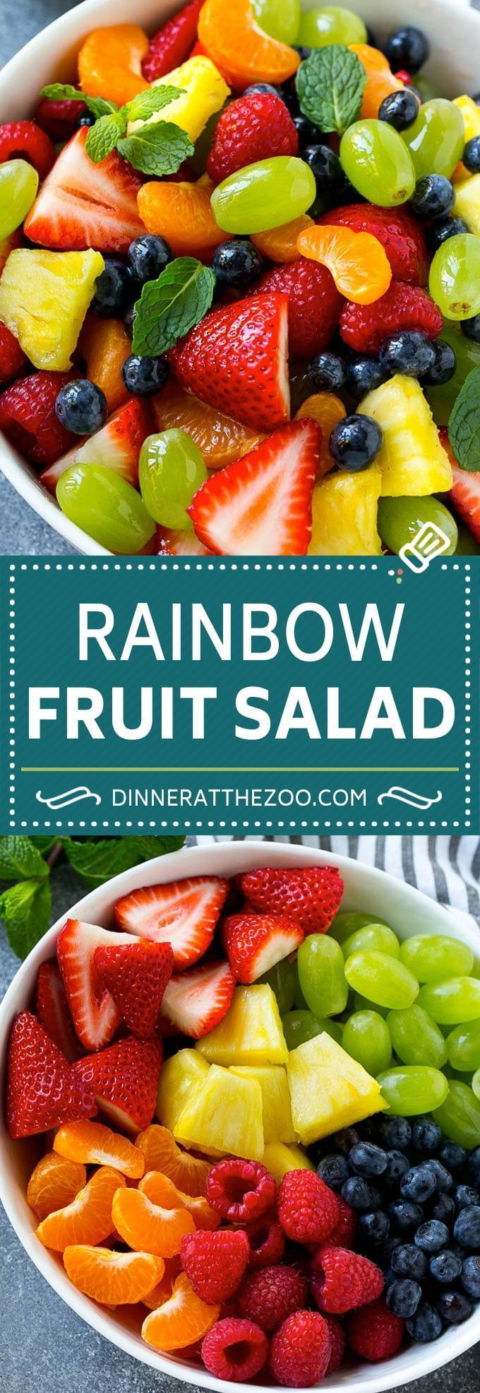 40 Fruit Salad Recipes - Dinner at the Zoo