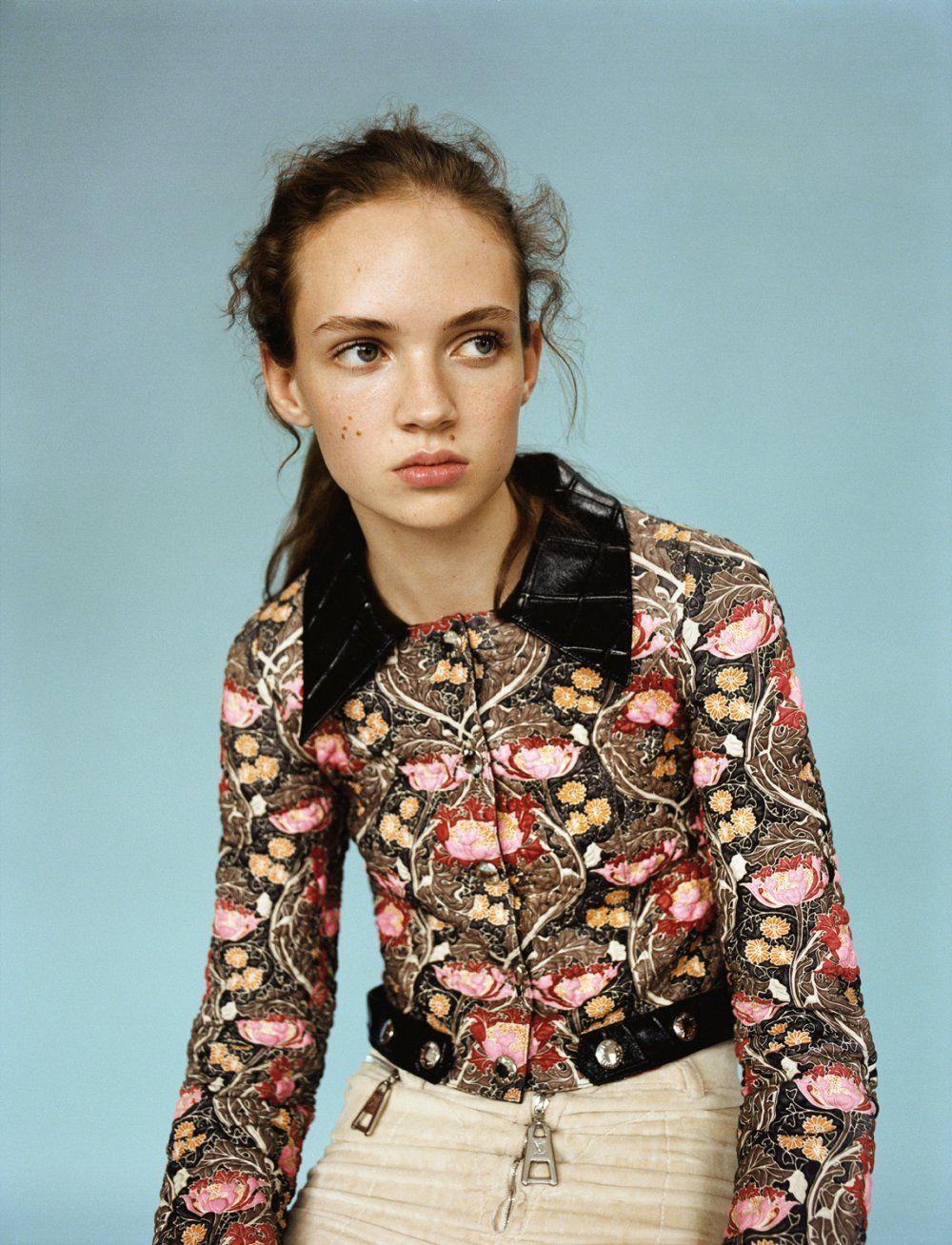 Twin Magazine #12 Model: Adrienne Jüliger Photography: Matteo Montanari Styling; Celestine Cooney