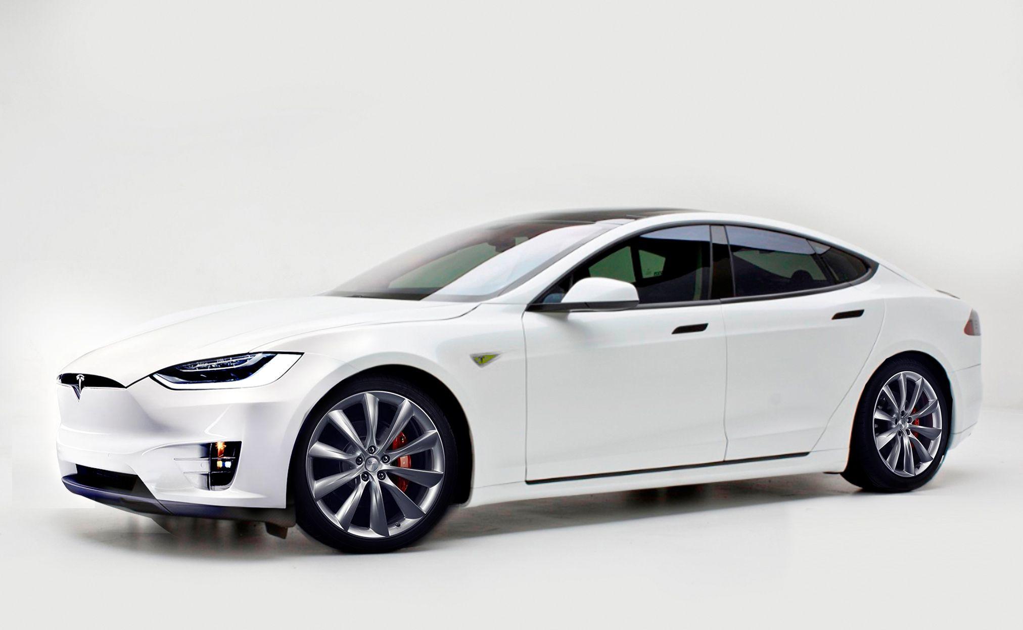 Facelifted Tesla Model S revealed Tesla model s, Tesla