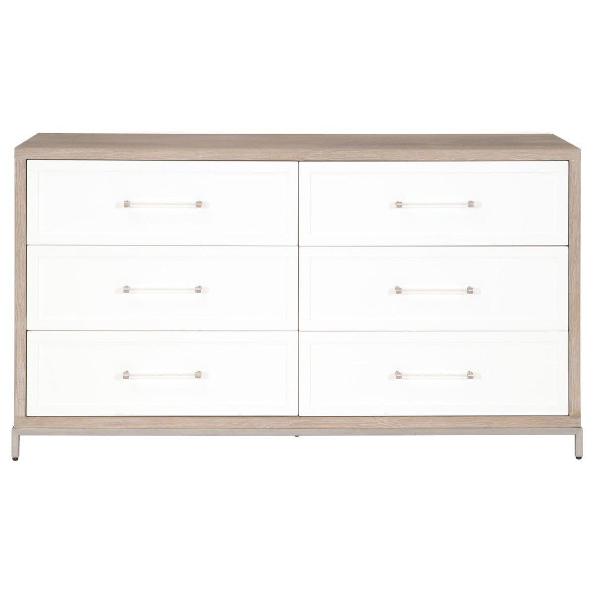Blu Home Wrenn 6 Drawer Double Dresser Double Dresser Dresser Drawers [ 1200 x 1200 Pixel ]