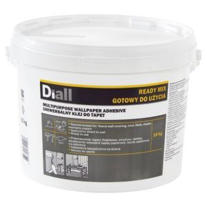 Diall Wall Paper Glue Ready To Use Wallpaper Adhesive 10 Kgwhite Adhesive Wallpaper Paper Glue Adhesive