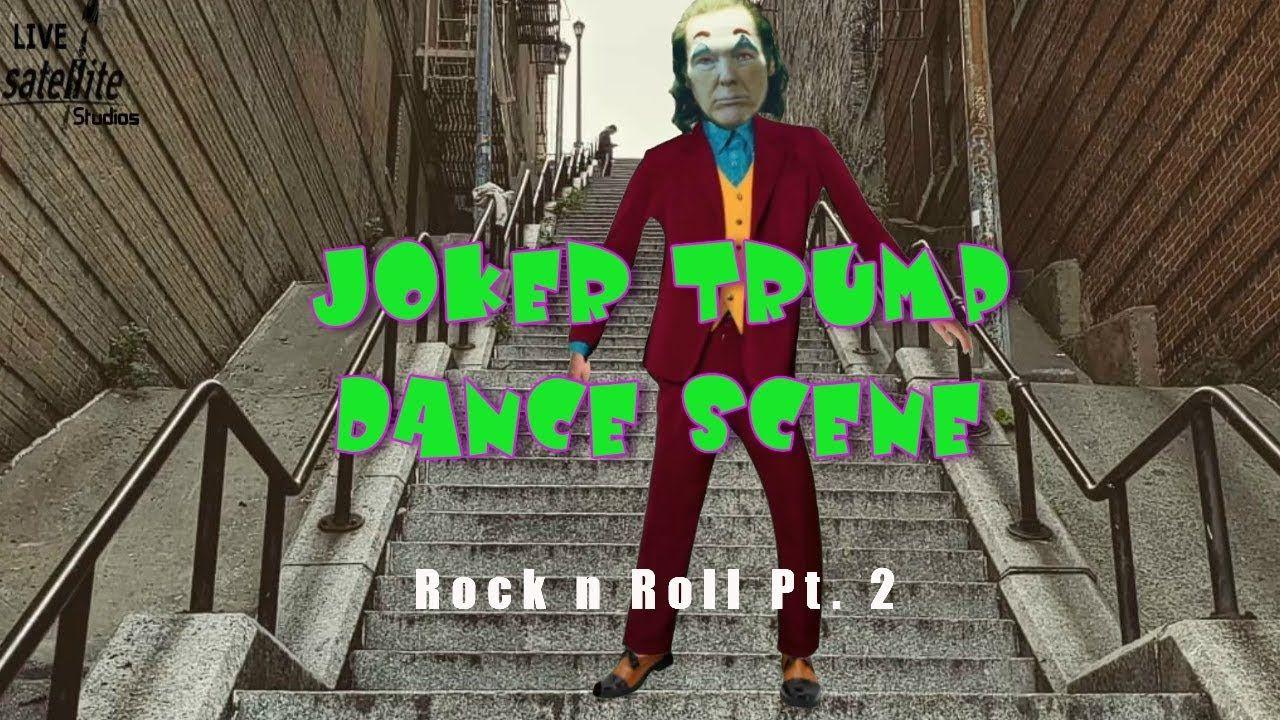 JOKER TRUMP Stairs Dance Scene Rock and Roll Part 2