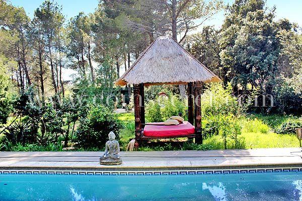 Location de maison de vacances avec piscine à Villeneuve les Avignon - maison de vacances a louer avec piscine