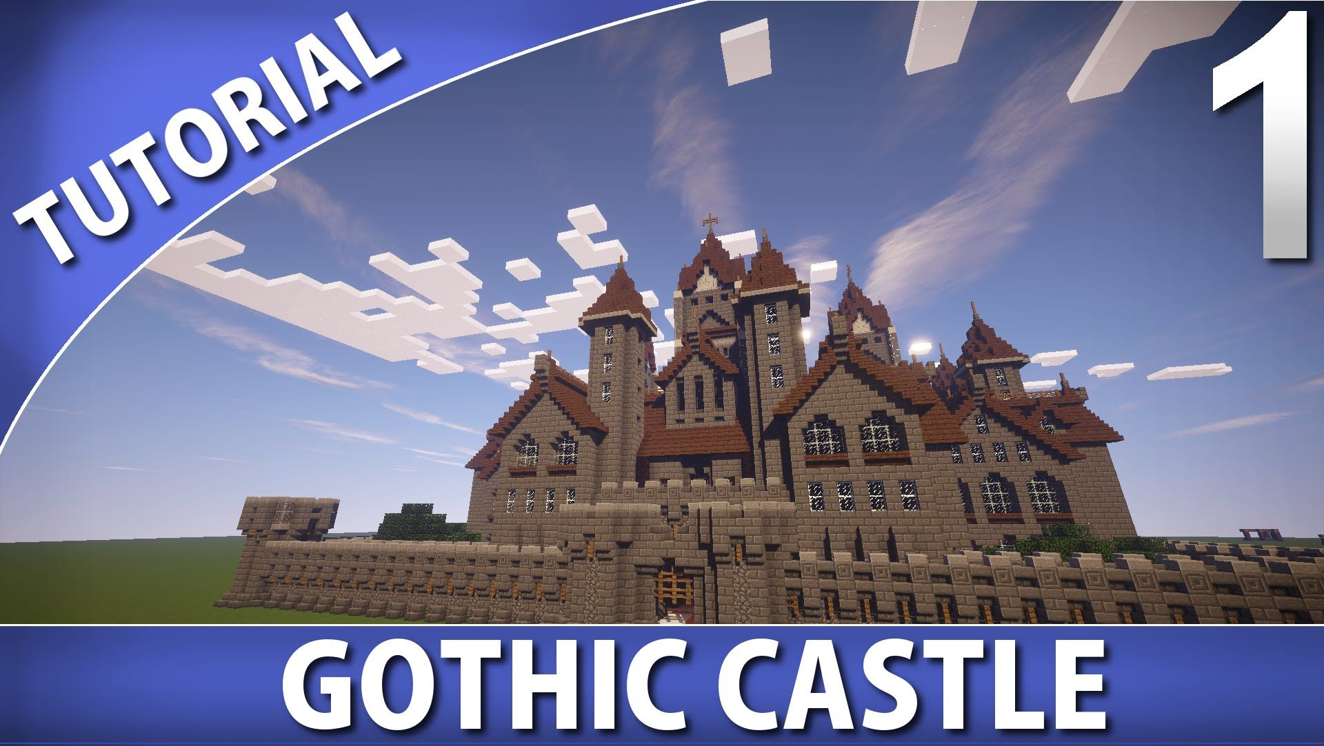 medieval minecraft castle tutorial