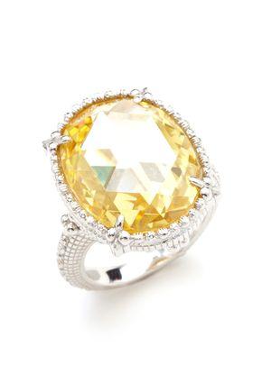 On ideeli JUDITH RIPKA Oval Calypso Ring Jewelry Pinterest