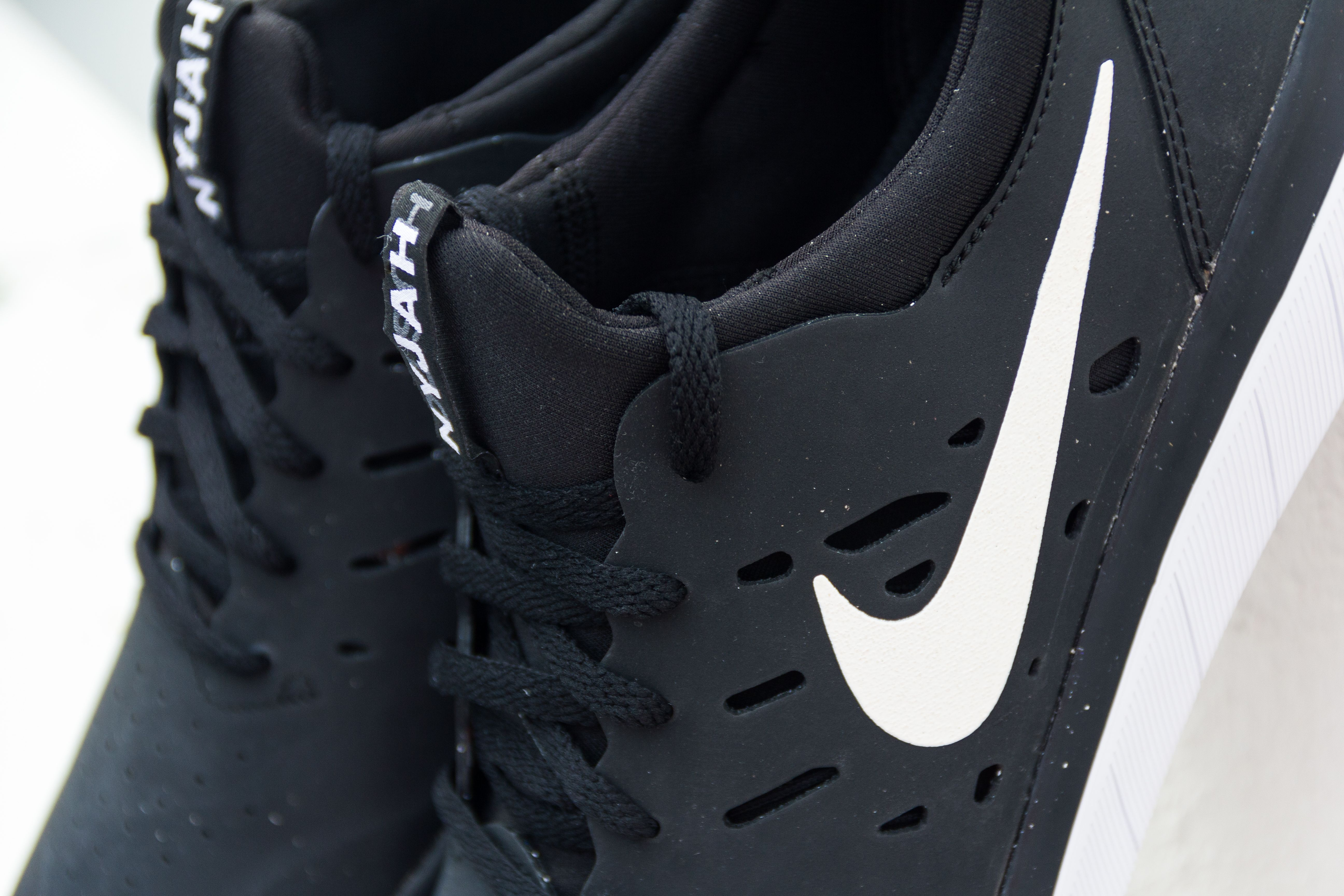 Nike SB Nyjah Free Black shoe.  76ca041bd