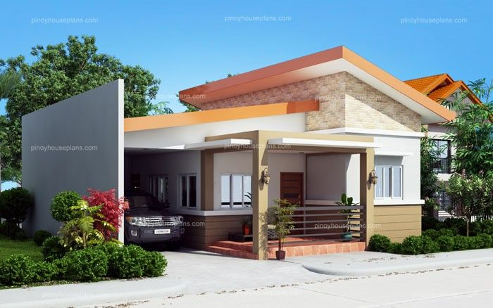Cecile One Story Simple House Design Pinoy House Plans One Storey House Simple House Plans Simple House