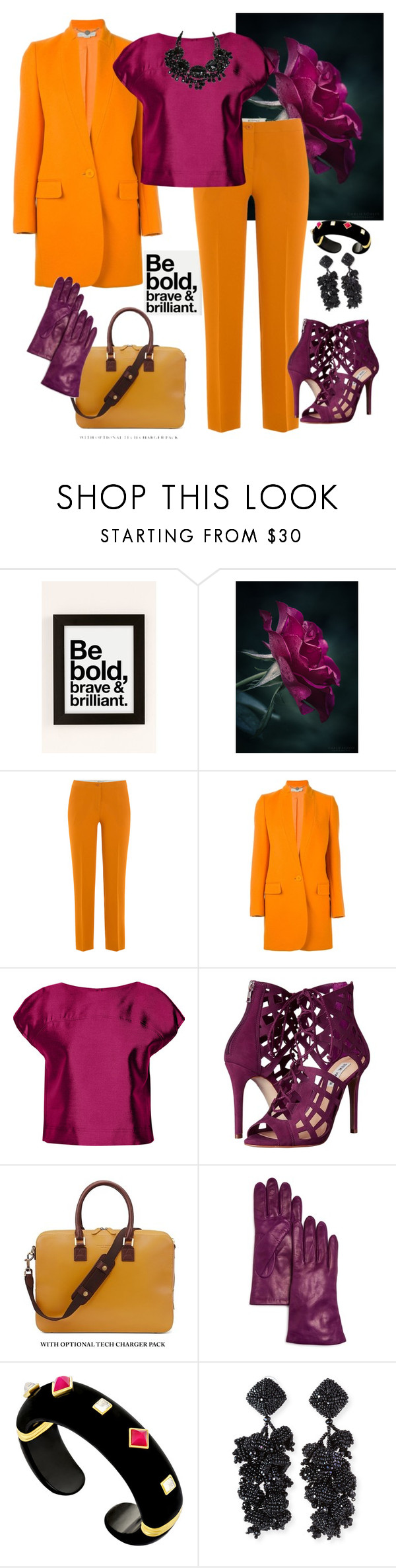 """""""Go Boldly🌻"""" by parnett ❤ liked on Polyvore featuring Urban Outfitters, Etro, STELLA McCARTNEY, Raoul, Steve Madden, Aspinal of London, Bloomingdale's and NOIR Sachin + Babi"""