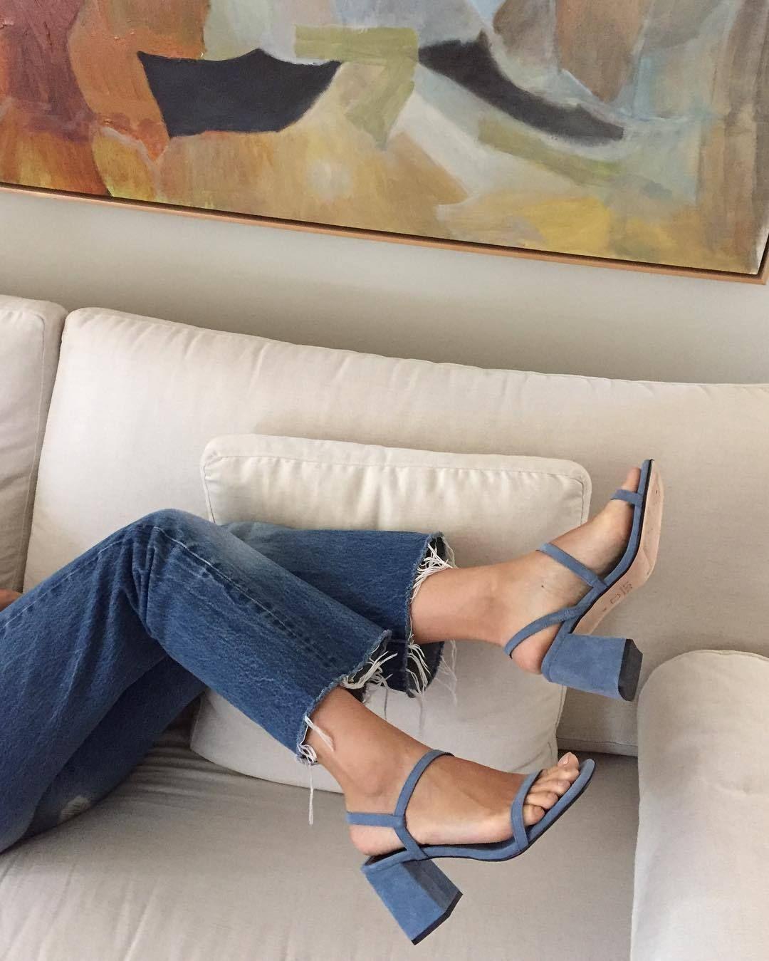 Shoes | Schoenen | Blue | Blauwe | Sandals | Heels