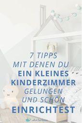 Photo of Ein kleines Kinderzimmer einrichten – 7 Tipps, um dies zu erreichen! – was leo lo …
