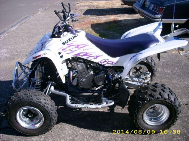 2006 suzuki quadsport ltz 400 4 wheeler white purple for sale 2006 suzuki quadsport ltz 400 4 wheeler white purple for sale in salem fandeluxe Choice Image