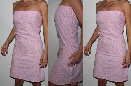 Coudre une robe bustier la main