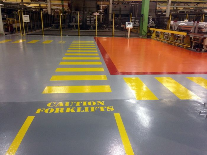How can your floor support the lean visualization of 5s for Floor finance definition