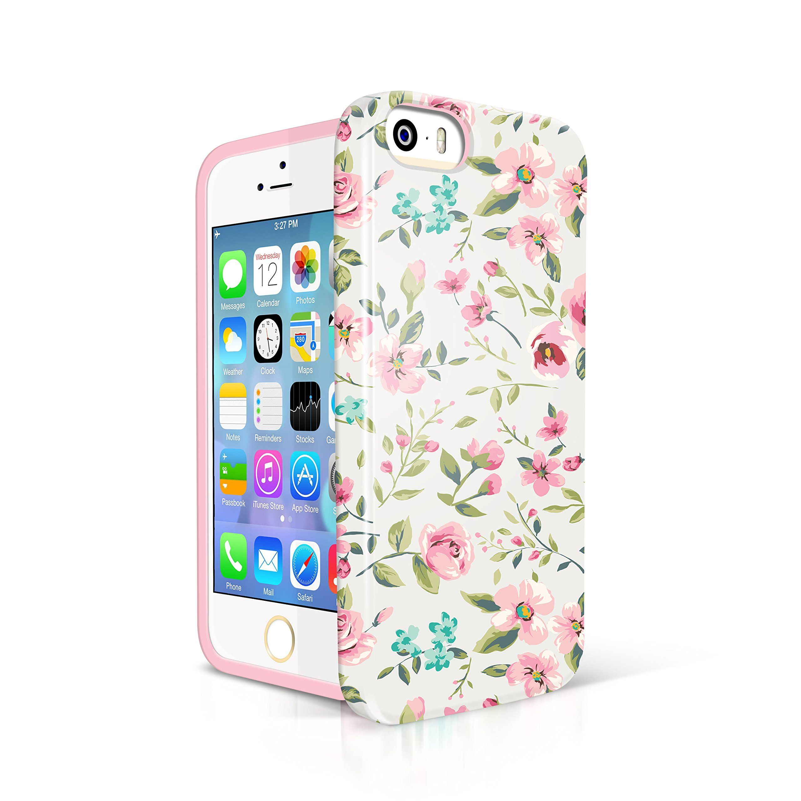new products 0e899 49479 5s Case for teen Girl, Akna Glamour Series [Flexible TPU]*[High ...