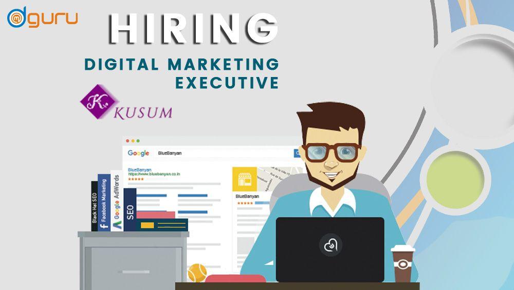 Job digital marketing executive job type fulltime