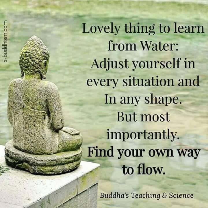 Flexible And Flow Like Water Josy Quotes Buddhist Quotes