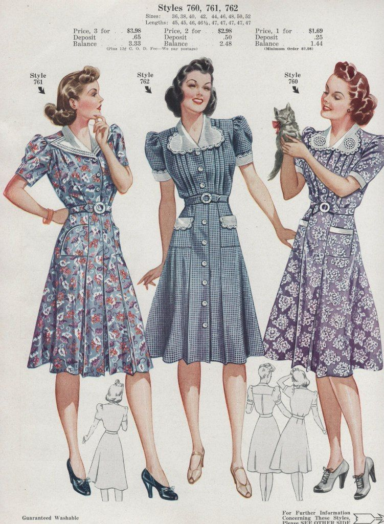 z36qVAdeWA.jpg (751×1024) | Vintage Fashion | Pinterest | 1940er ...