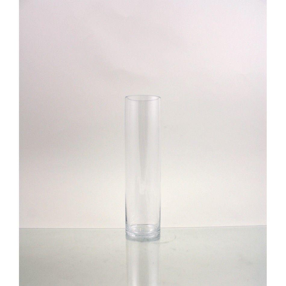 3 x 12 Clear Cylinder Glass Vase (BULK Case of 12 = $5.42 Per Vase ...
