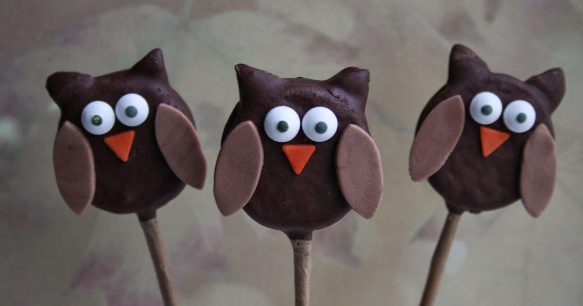 Sweet Happinez: How To   Uil Oreo Pops