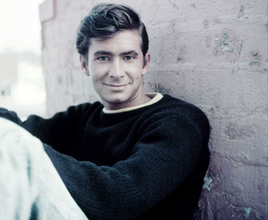 Anthony Perkins   20 Gay Hollywood Legends   Purple Clover