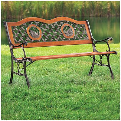 Wilson Fisher Swan Park Bench At Big Lots 50 With Images