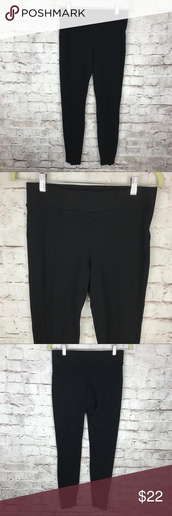 7624a9f1b9c1c5 CABI Black Nouveau Leggings Ponte Slim Leg Pants Brand: CAbi Style/Model:  Nouveau