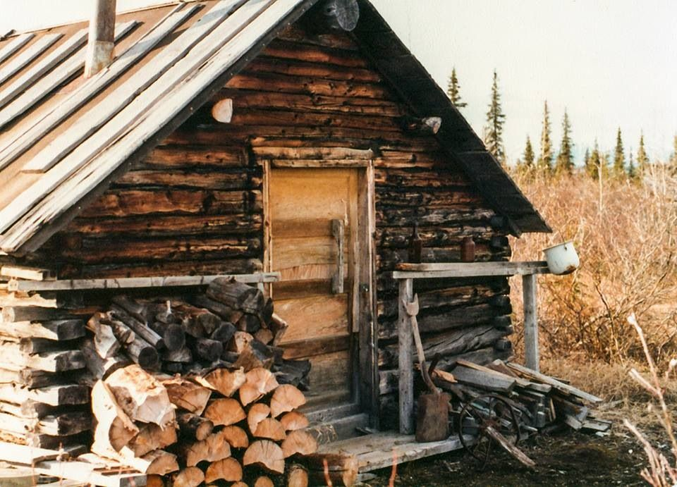 Old Trappers Cabin In Alaska Outdoors Pinterest