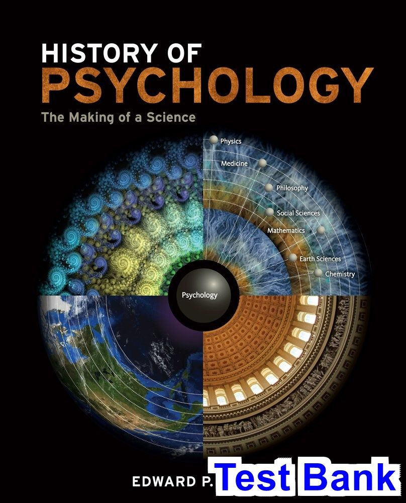 History of Psychology The Making of a Science 1st Edition Kardas