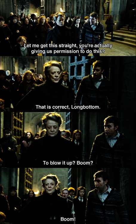 2nd Best Mcgonagall Moment After Yelling At Umbridge Imgur Harry Potter Memes Harry Potter Obsession Harry Potter Funny