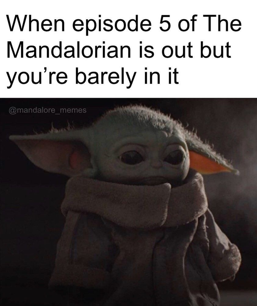 50 Year Old Baby Version Of Yoda Appeared In The Mandalorian Episode And People Can T Handle The Cuteness Star Wars Humor Star Wars Memes Star Wars Fandom