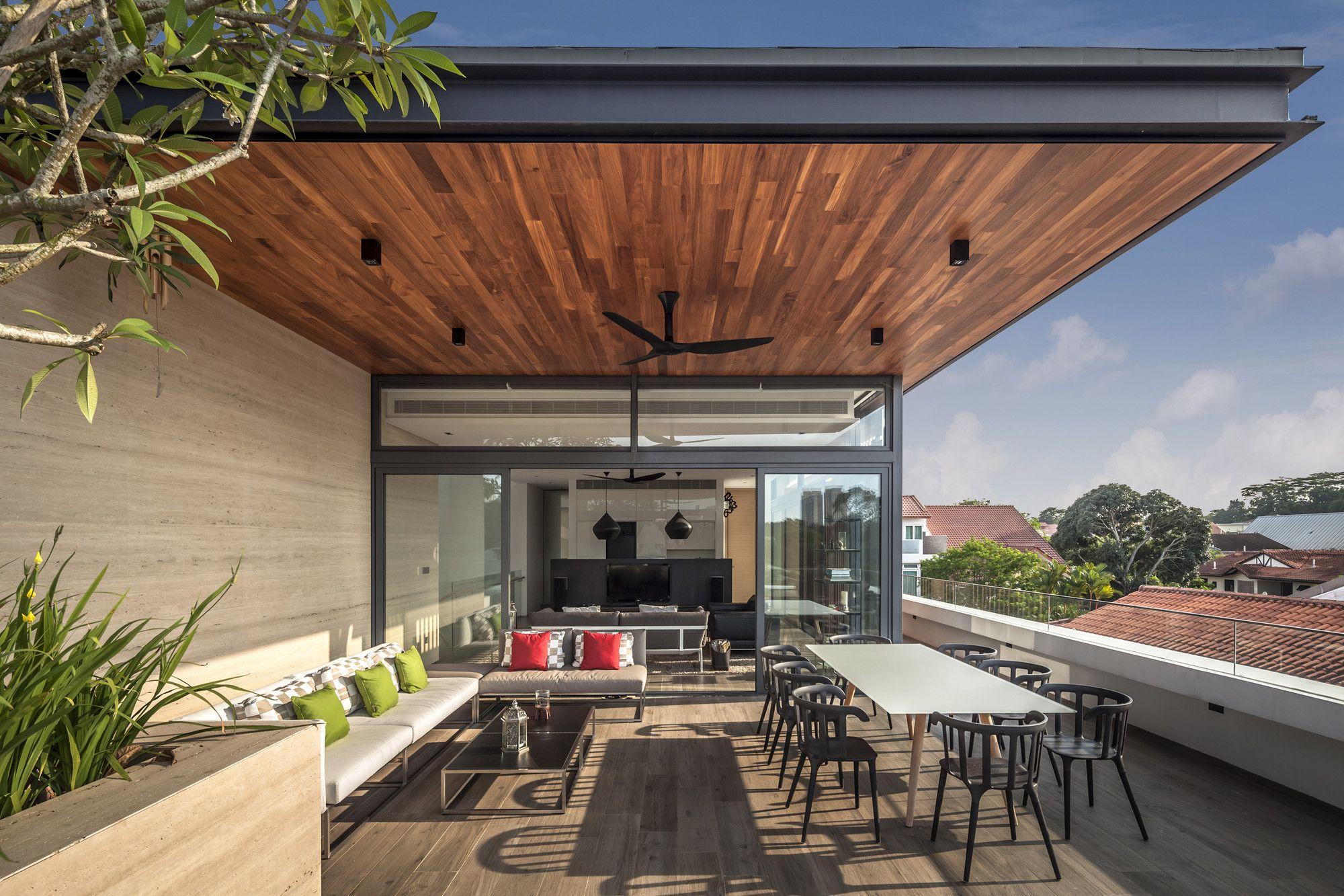 Galería de Casa Vista Lejana / Wallflower Architecture ... on Hhh Outdoor Living id=35423