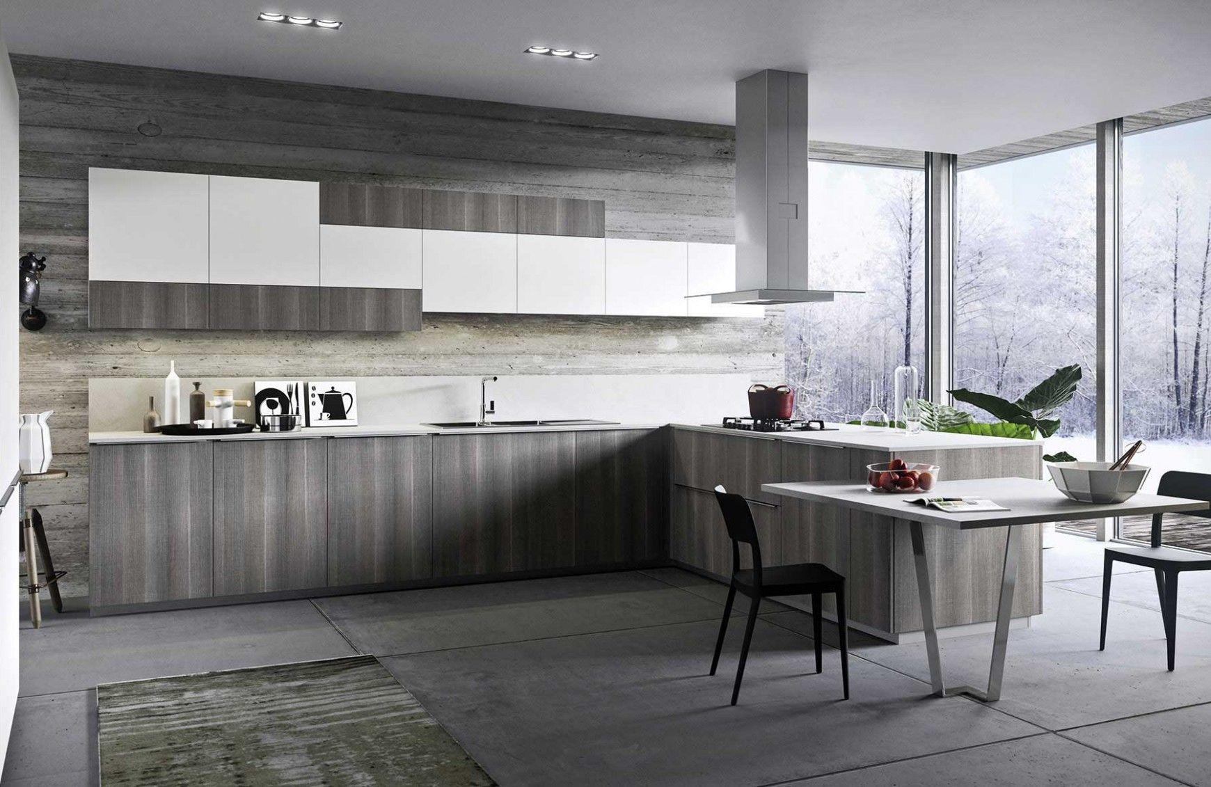 One k linear brick cucine arredamento e cucina