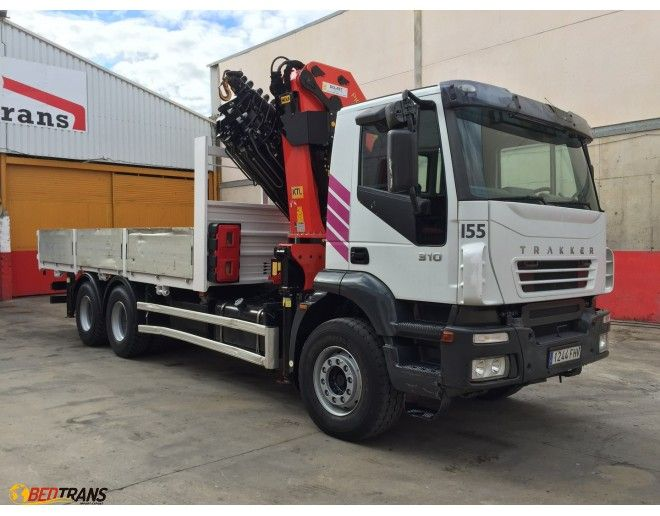 For Sale Used Truck Crane Iveco Trakker Palfinger Used Trucks Truck Cranes Trucks For Sale