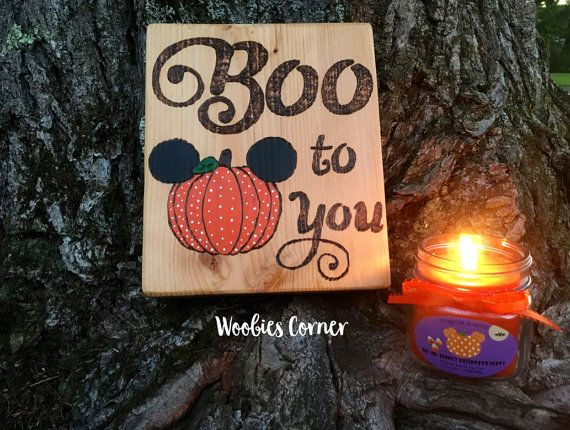 boo to you halloween signs halloween decorations halloween mickey not so scary