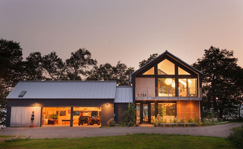 Acre Architects Modern Farmhouse Architecture Architecture House
