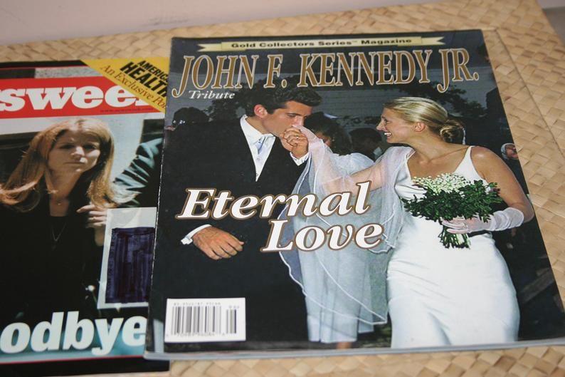 John F. Kennedy Jr. Magazines Newsweek August 2 1999 A