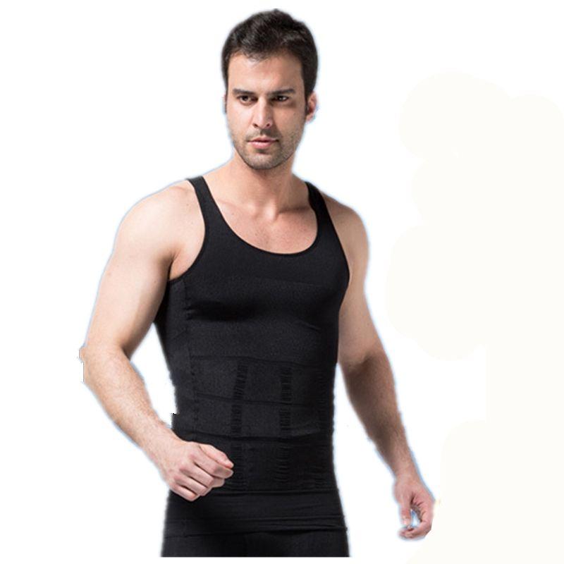 Men Shaper Body Vest Slim Chest Belly Waist For Man Ourdoor Sports Tank Tops UK