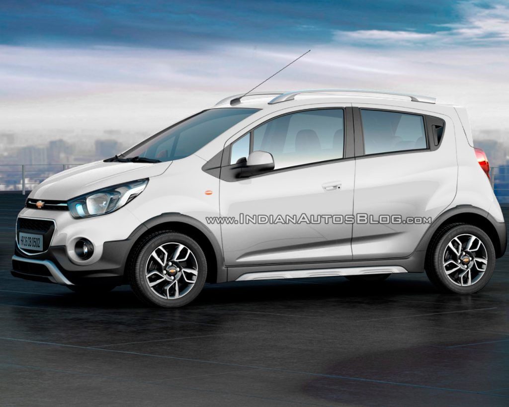Chevrolet Beat Activ Rendered In All Existing Colors Chevrolet