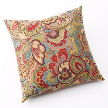 Floor Pillows Kohls : Josetta Decorative Pillow - on sale now at Kohls w/ 30% off (BEACH30) and free shipping (JULYMVC ...