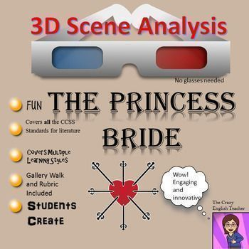 The Princess Bride  D Scene Analysis Project Diorama Standards