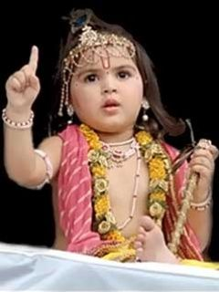 Radha Krishna Serial Baby Krishna : radha, krishna, serial, Little, BalKrishna, Shown, Serial, Hindi, Image,, Krishna,, Fashion